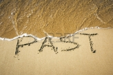 17434389-an-image-of-a-word-in-the-sand-past